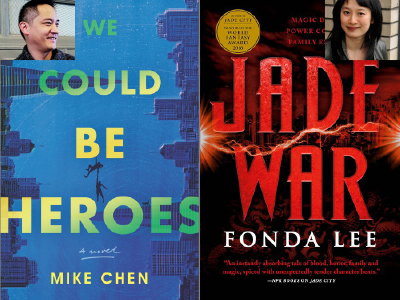 Mike Chen and Fonda lee cover and author images