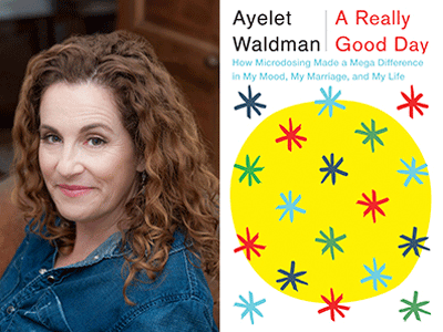 Ayelet Waldman author photo and A Really Good Day cover image