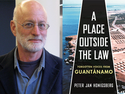 Pter Jan Jonigsberg author photo and A Place Outside the Law cover image