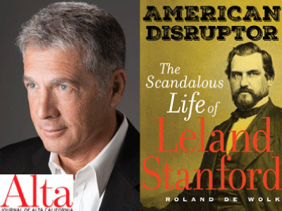 Roland De Wolk author phtoo and American Disruptor cover image
