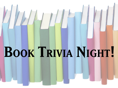 Book Trivia Night banner