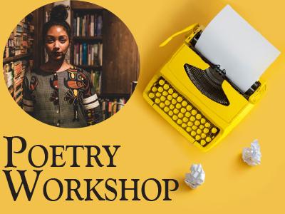 Safia Elhillo Poetry Workshop for Teens banner