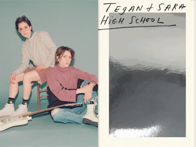 Tegan and Sara photo and book image
