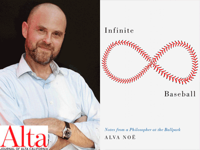 alva noe author photo and cover image