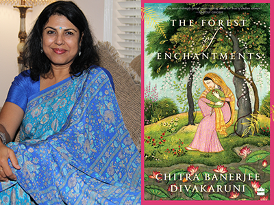 CHITRA BANERJEE DIVAKARUNI author photo and book cover