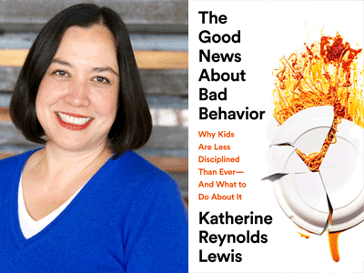 KATHERINE REYNOLDS LEWIS book cover and author photo
