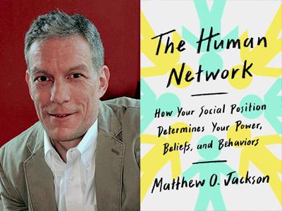 MATTHEW O. JACKSON photo and book cover