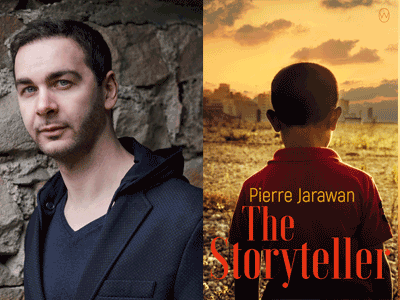 PIERRE JARAWAN photo and book cover