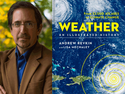 andrew revkin author photo and book cover