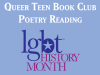 Queer Teen Book Club poetry reading