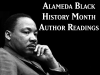 Alameda Black History Month Author Readings banner