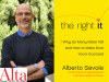 Alberto Savoia author photo and The Right It cover image