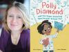 Alice Kuiper author photo and Polly Diamond cover image