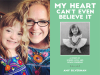 Amy and Sophie author photos and My Heart Can't Even Believe It cover image