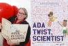 Andrea Beaty Author Photo & Ada Twist, Scientist Book Cover
