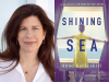 Anne Korkeakivi author photo and Shining Sea cover image