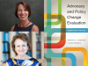 Annette Gardner and Claire Brindis author photos, Advocacy and Policy Change cover image L.