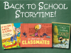 Back to School Storytime banner
