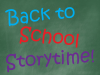 Back to School Storytime