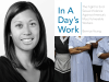 Bernice Yeung author photo and In A Day's Work cover image