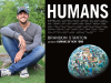 Brandon Stanton author photo and Humans cover image
