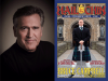 Bruce Campbell author photo and Hail to the Chin cover image