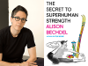 Alison Bechdel author photo and The Secret to Superhuman Strength cover image