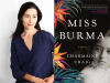 Charmaine Craig author photo and Miss Burma cover image
