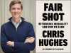Chris Hughes author photo and Fair Shot cover image