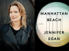 Jennifer Egan author photo and Manhattan Beach cover image