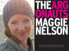 Maggie Nelson author photo and The Argonauts cover image