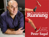 Peter Sagal author photo and The Incomplete Book of Running cover image