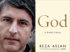 Reza Aslan author photo and God cover image