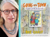 Roz Chast author photo and Going Into Town cover image