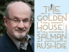 Salman Rushdie author photo and The Golden House cover image