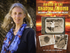 D. Leah Steinberg author photo and Raised in the Shadow of a Bomb cover image