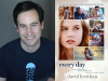 David Levithan author photo and Every Day cover image