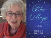 Debby Bloch author photo and Blue Magic cover image