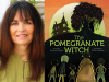 Denise Doyen author photo and The Pomegranate Witch cover image