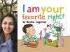Devika Joglekar author photo and I Am Your Favorite, Right cover image