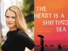 Elizabeth Flock author photo and The Heart Is a Shifting Sea cover image