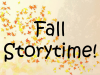 Fall Storytime banner