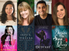 author and cover images for Maurene Goo, Mary E Pearson, Taran Matharu & Tricia Levenseller