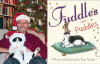 Frans Vischer author photo with cat and Fuddles and Puddles cover image