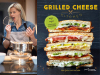Heidi Gibson author photo and Grilled Cheese Kitchen cover image