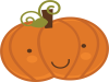 Happy Halloween pumpkin illustration