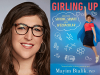 Mayim Bialik author photo and Girling Up cover image