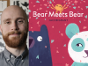 Jacob Grant author photo and Bear Meets Bear cover image