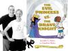 Jenni and Matt Holm photo and The Evil Princess vs. the Brave Knight cover image