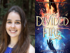 Jennifer San Filippo author photoand Divided Fire cover image